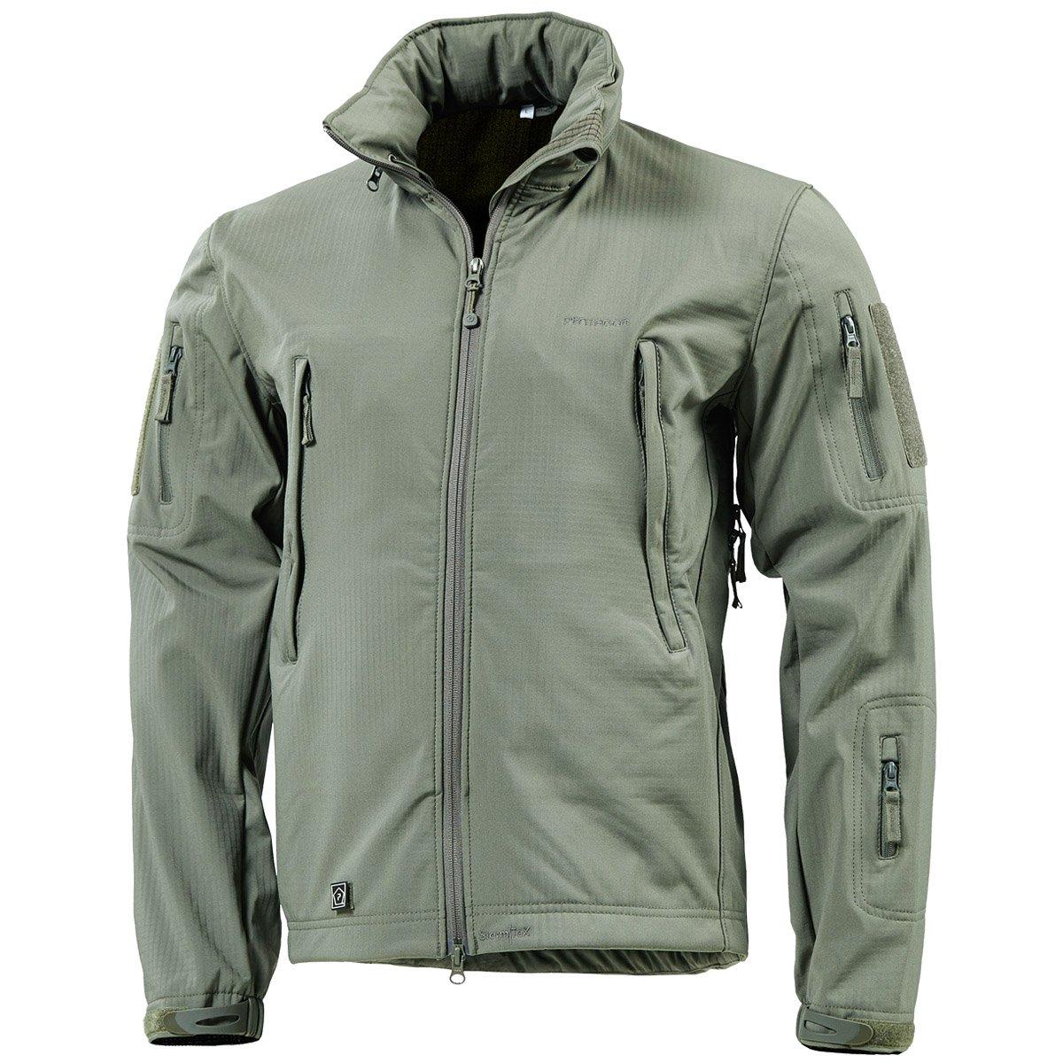 69f4728f928dc8 Pentagon Artaxes Men s Softshell Jacket Grindle Green  Amazon.co.uk   Clothing