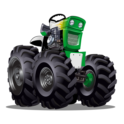 Ultimate tractor simulator games for kids: Farm vehicle pulling app (Farm Tractor Games)