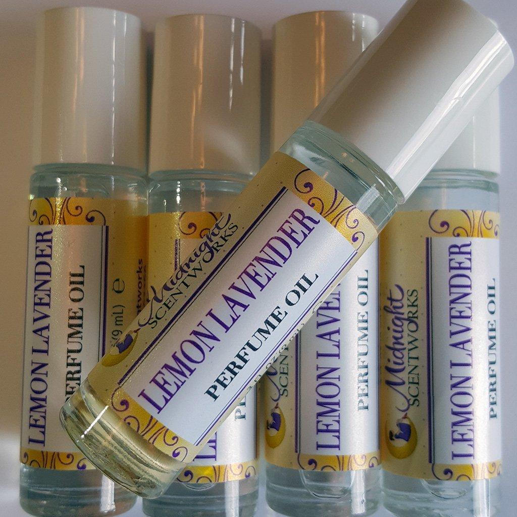 Lemon Lavender Perfume Oil, Roll-on