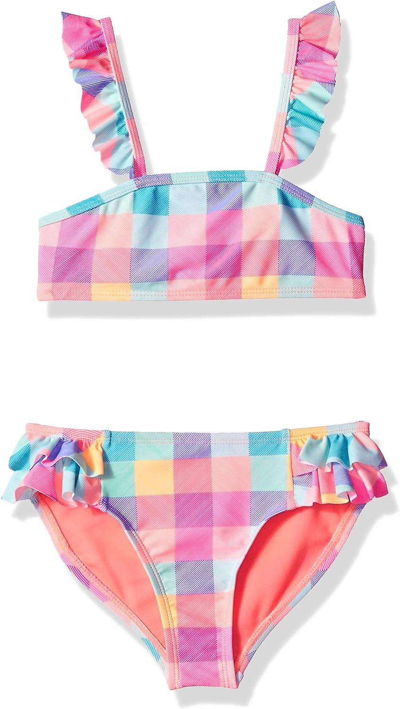 Rivstar Girls Mermaid Bikini Set 2pc Swim Suit Bikini Set