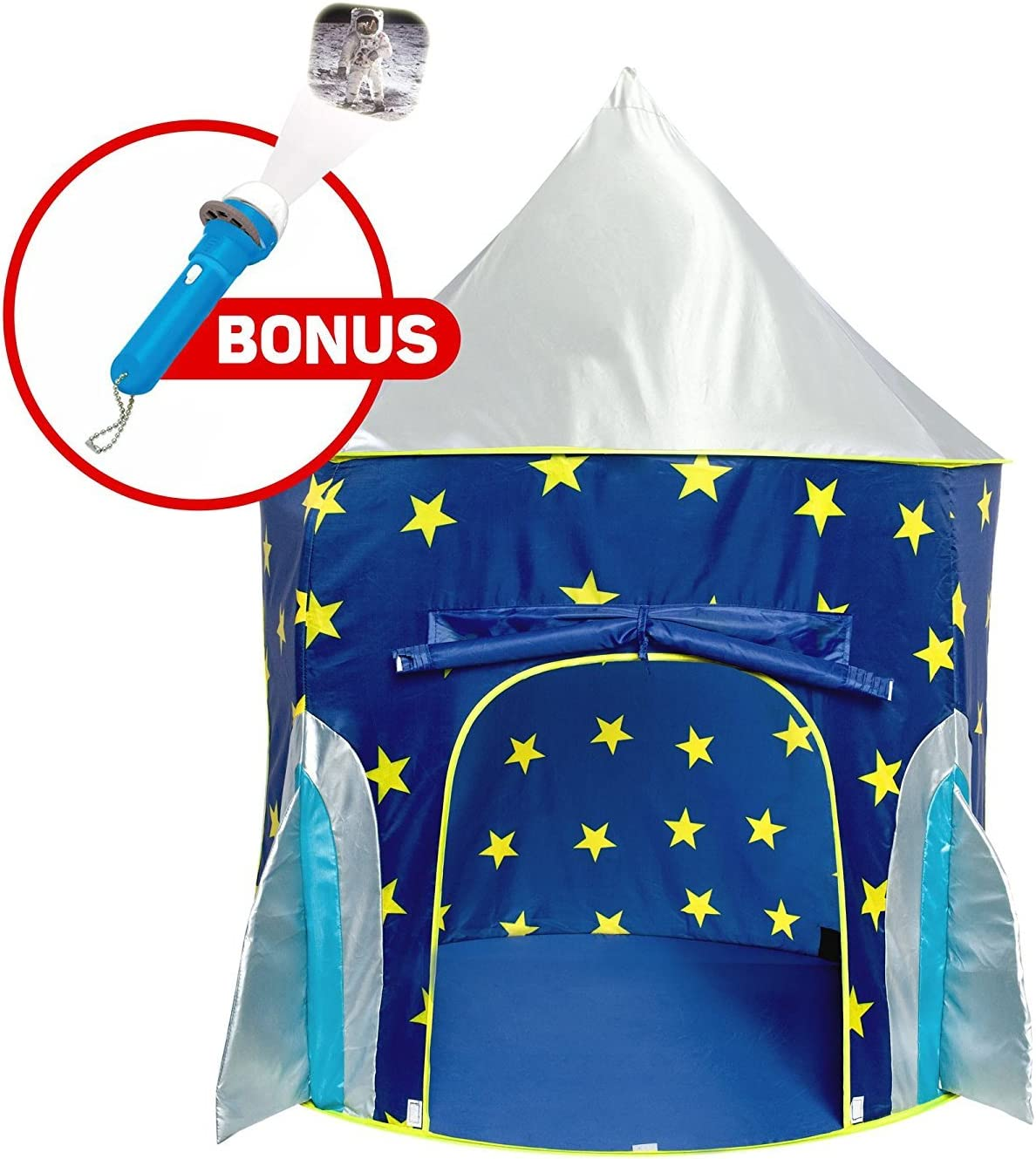 Rocket Ship Play Tent - Spaceship Playhouse ...  sc 1 st  Amazon.com & Amazon.com: Play Tents u0026 Tunnels: Toys u0026 Games: Play Tents Play ...