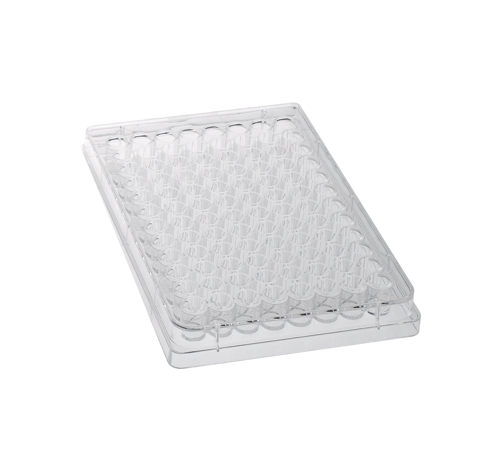 Celltreat CLS-3500-R96 Glass Round Bottom Sterile TC-Treated Plate with 96 Wells (Case of 100)