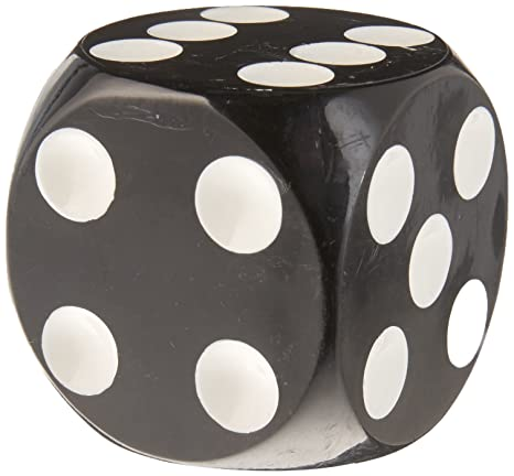 Amazon com: Vintage Parts 78238 Black Dice Custom Shift Knob