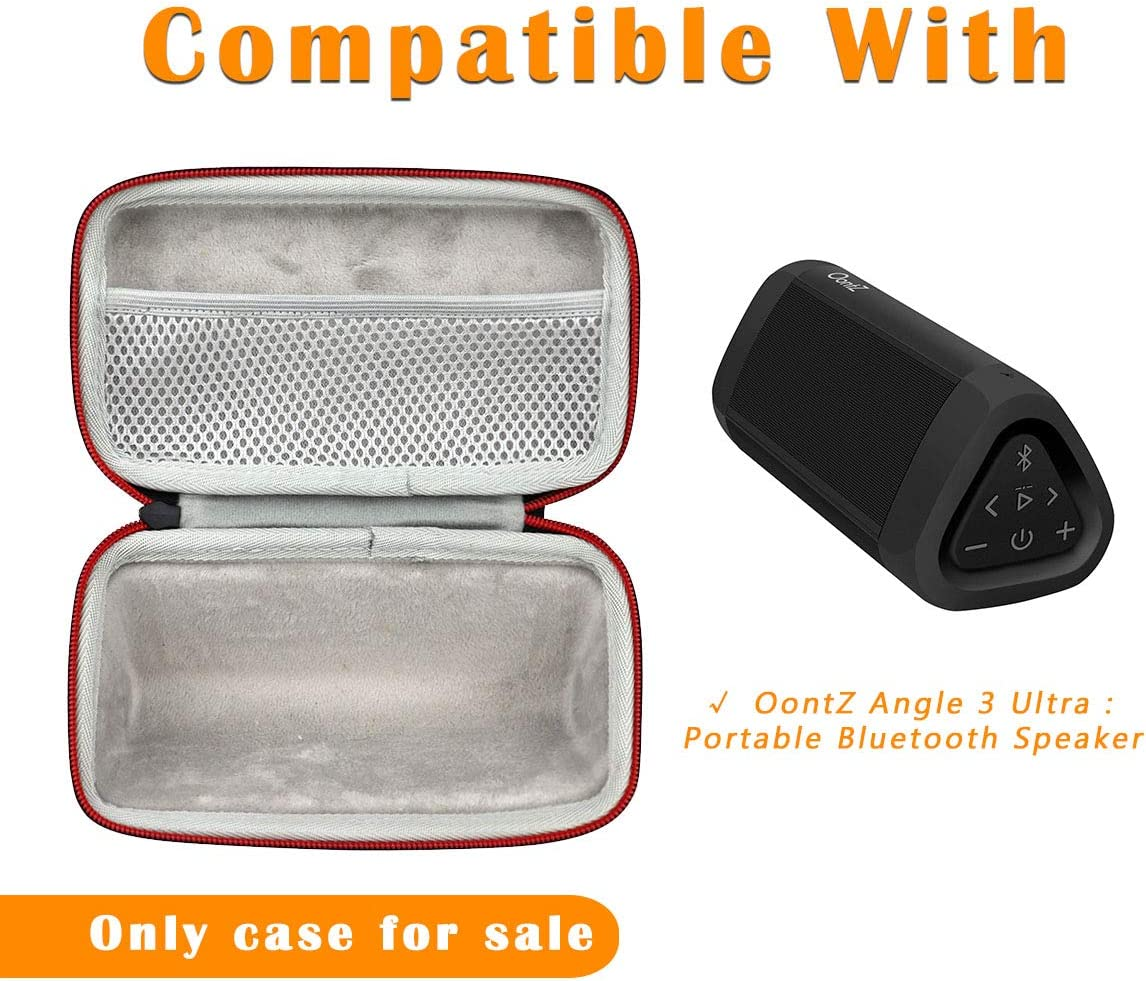 Asafez Hard Carrying Case Compatible with Cambridge SoundWorks OontZ Angle 3 Ultra Portable Bluetooth Speaker