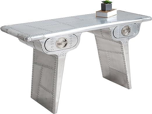 Paradieseinkauf AVIATOR aluminio 120 cm Vintage escritorio matt ...