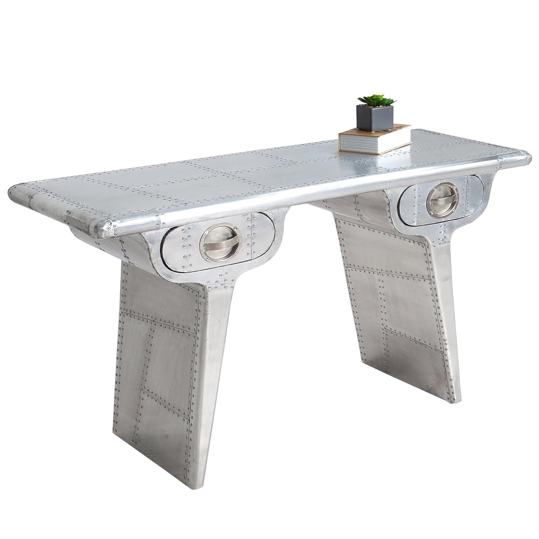 Paradieseinkauf AVIATOR aluminio 120 cm Vintage escritorio ...