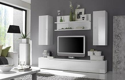 Primo 12 Parete Attrezzata Soggiorno Minimal Porta Tv: Amazon.it ...
