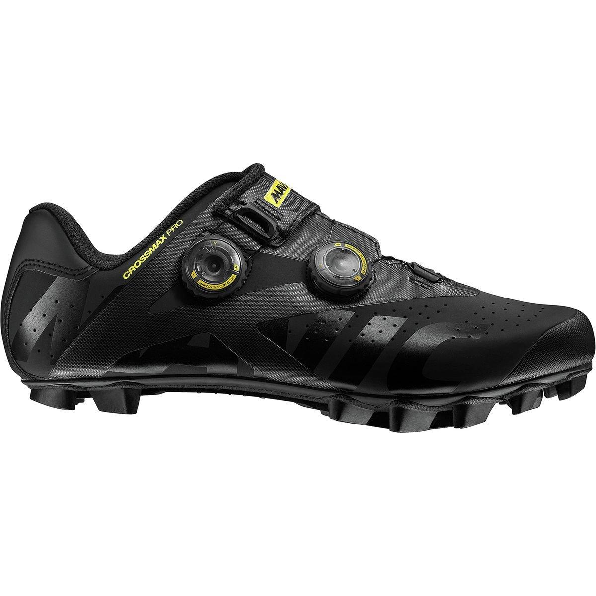 [Mavic] Crossmax Pro Shoe – Men 's US 12.0/UK 11.5 Black/Yellow Mavic/Black B078S4HBHG