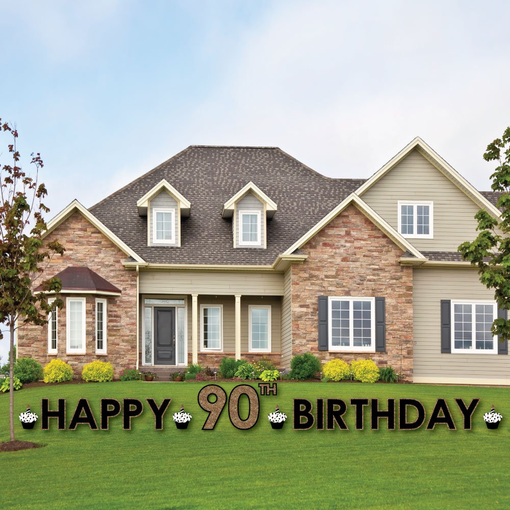 Adult 90th Birthday Outdoor Decorations Image 3
