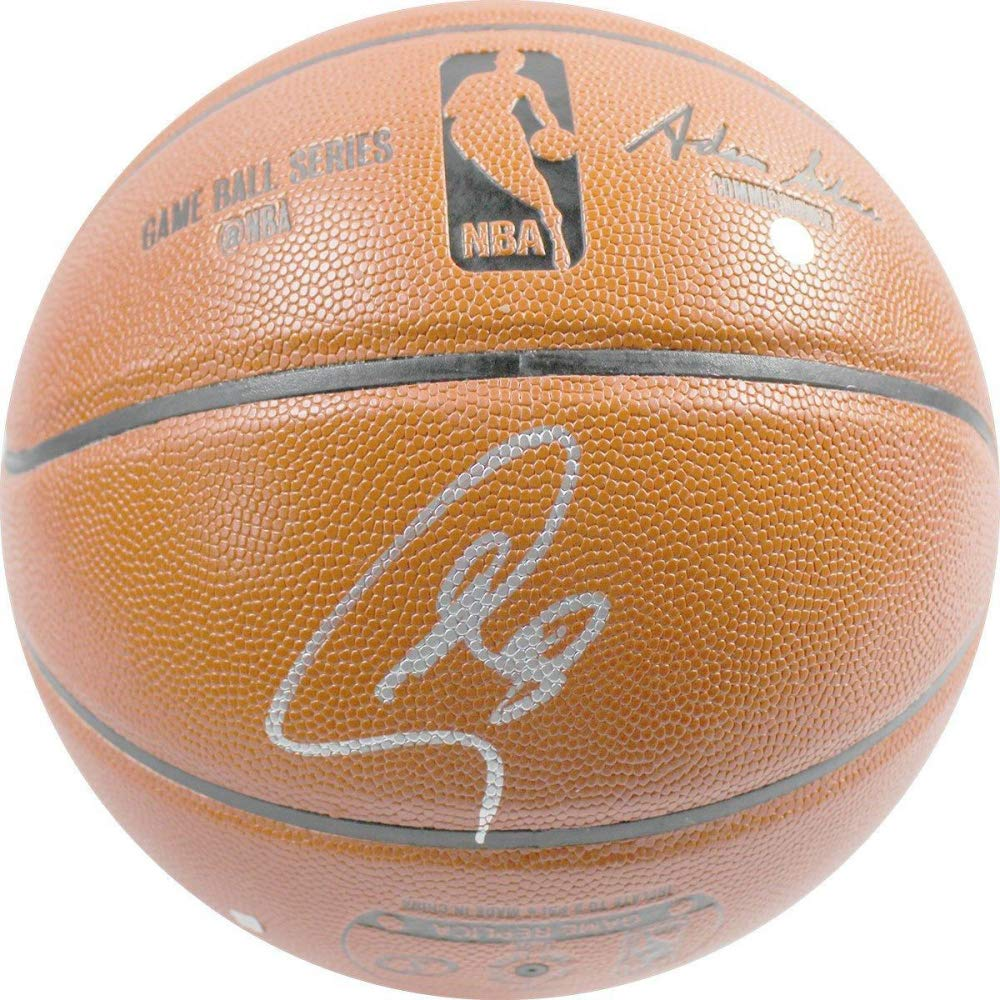 Stephen Curry Golden State Warriors Signed Autograph NBA Game Basketball Steiner Sports Certified