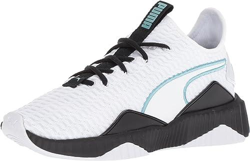 PUMA Women's Puma Defy Mid Varsity Sneaker, Size 9 M Black from NORDSTROM | Shop