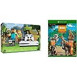 Xbox One S 500GB Ultra HD ブルーレイ対応プレイヤー Minecraft 同梱版 (ZQ9-00068) + Zoo Tycoon: アルティメット アニマル コレクション セット