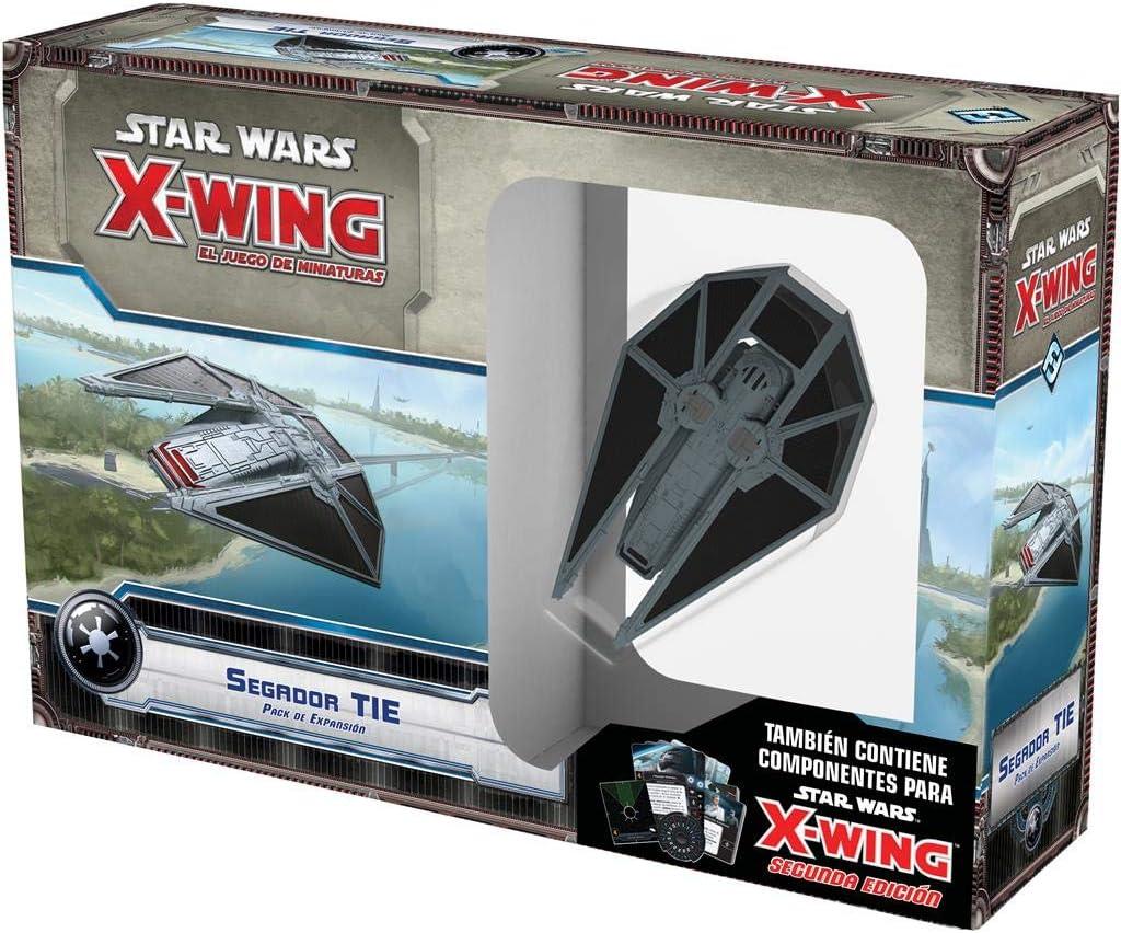 Fantasy Flight Games- Star Wars X-Wing: Segador Tie - Español (FFSWX75): Amazon.es: Juguetes y juegos