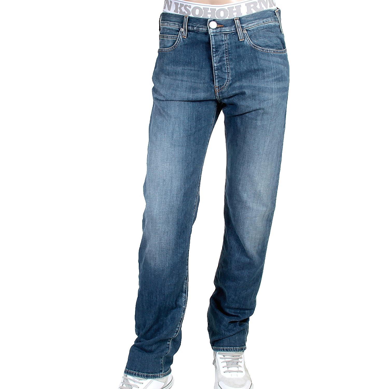 Armani Jeans mens J21 regular fit 06J91 2U stretch denim jeans ...