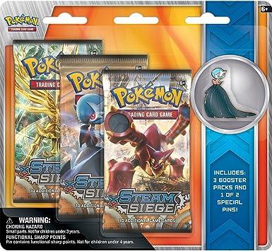 Pokemon Volcanion & Gardevoir Collectors Pins 3 pack - English ...
