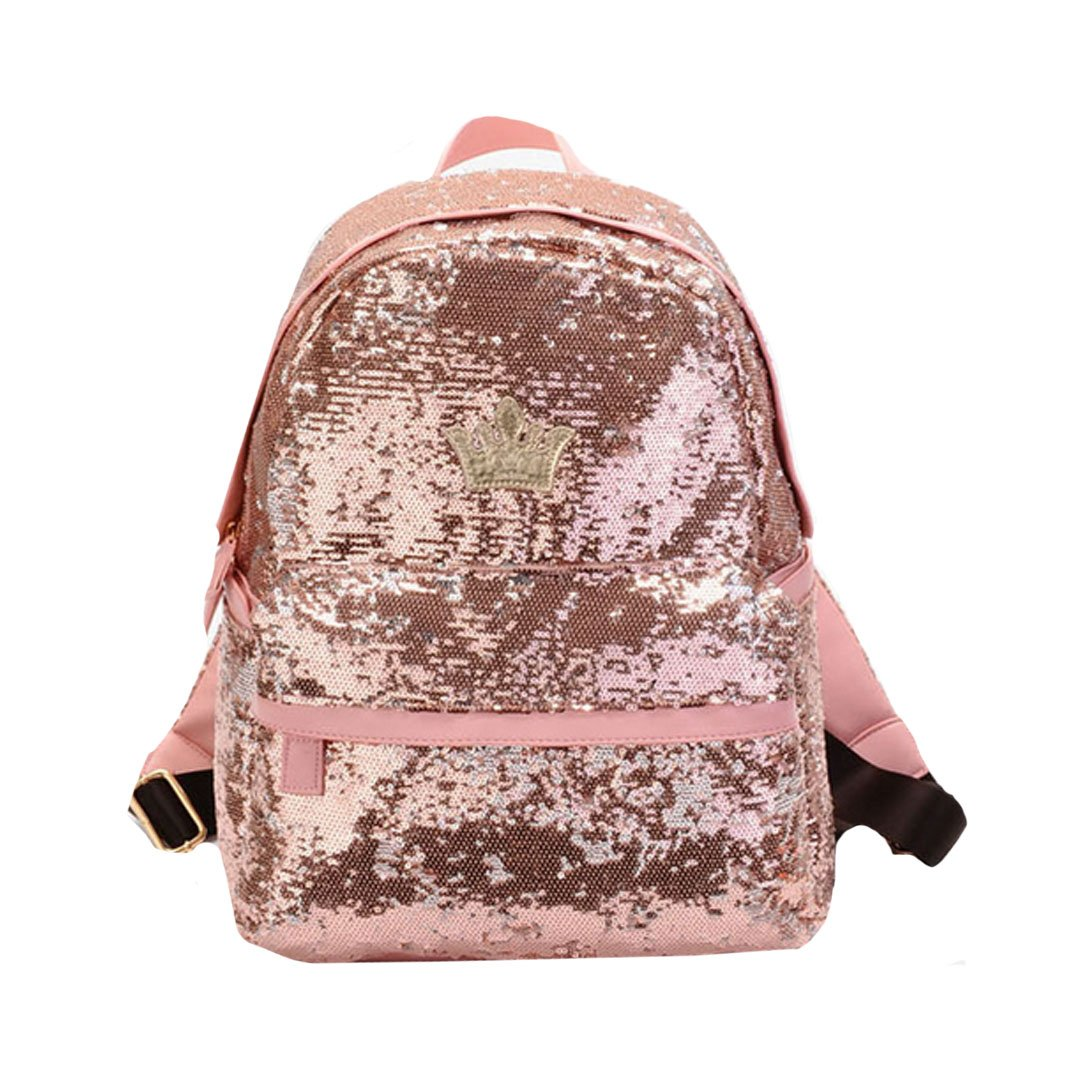 Amily Mini BlingバックパックスパンコールPaillette Glitterバックパックfor Girls B07DCQZ1HS Pink Color