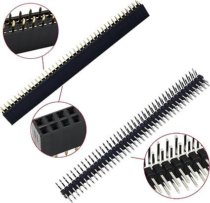 Aussel 60 Stück Weg Pcb Board 40pin Männlich Weiblich Computer Zubehör