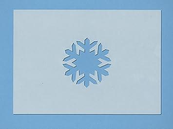 Fischer Fensterbilder Schablone Eiskristall Für Textil Fenster Und