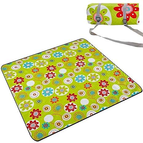 Amazon.com: LXLA- Manta de picnic impermeable extra grande ...
