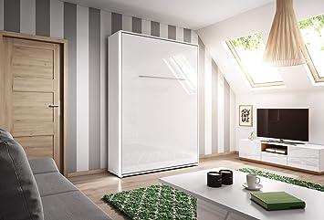 Euro Smart Furniture Lit Escamotable Mural Vertical