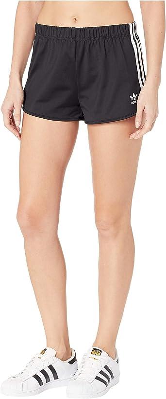 desaparecer artículo sin  adidas Originals - Pantalones cortos de 3 rayas para mujer: Amazon.es: Ropa  y accesorios