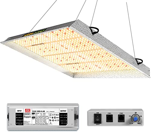 MARS HYDRO TS 3000W LED Grow Light for Indoor Plants 4×4 5×5 ft Commercial Grow Lighting Daisy Chain and Dimmable Full Spectrum Plant Growing Light IR Sunlike Led Grow Lamp for Greenhouse 1016pcs LEDs