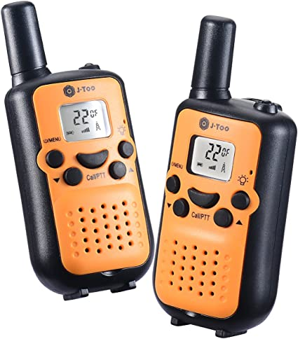 2 Pack Cobra 16 Mile Range FRS Two Way Radio Walkie Talkie Set NOAA CX112