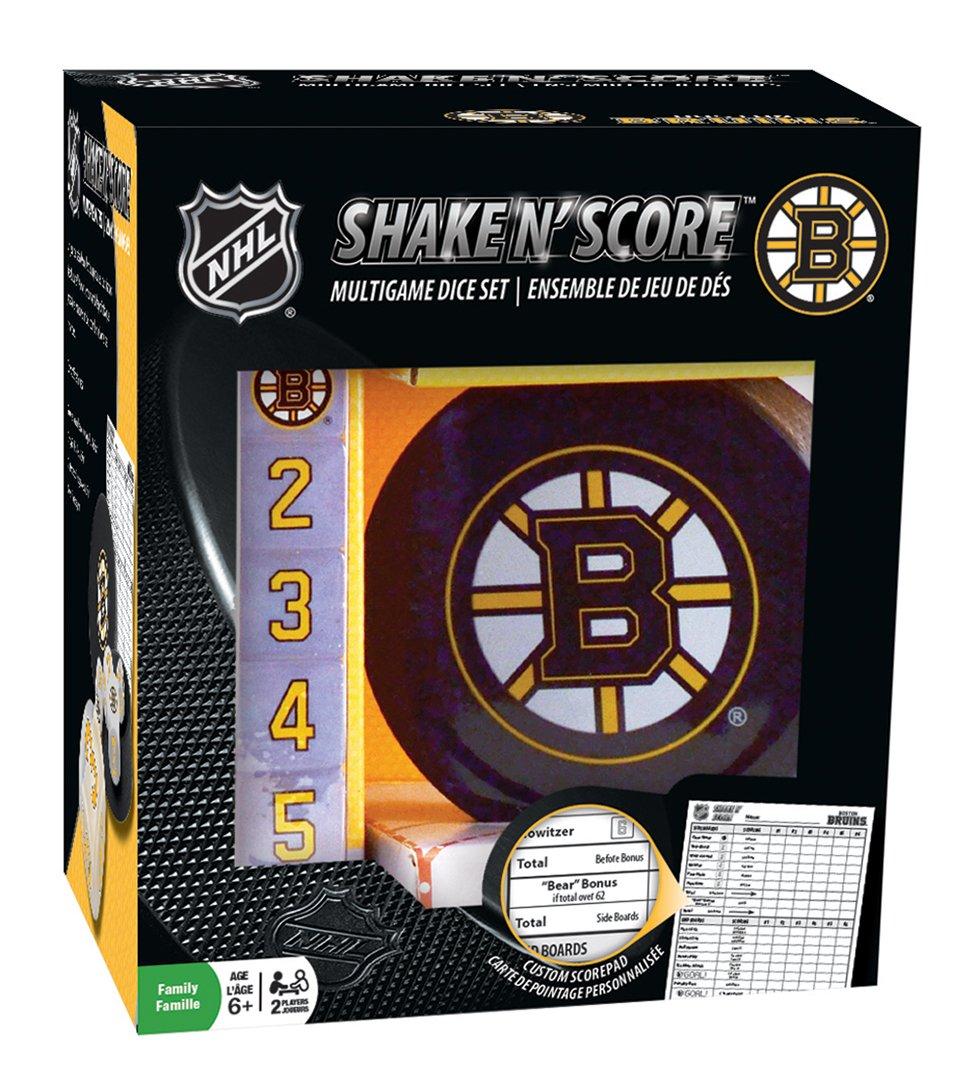 MasterPieces NHL Boston Bruins Shake 'n Score Dice Game