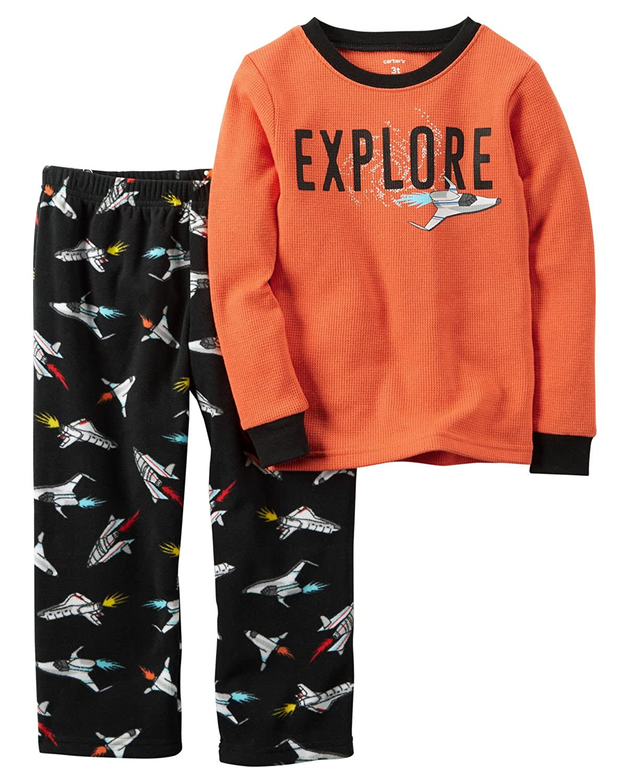Carter's 2 Piece Top and Pant Pajama Set for Boys Carters 367G106