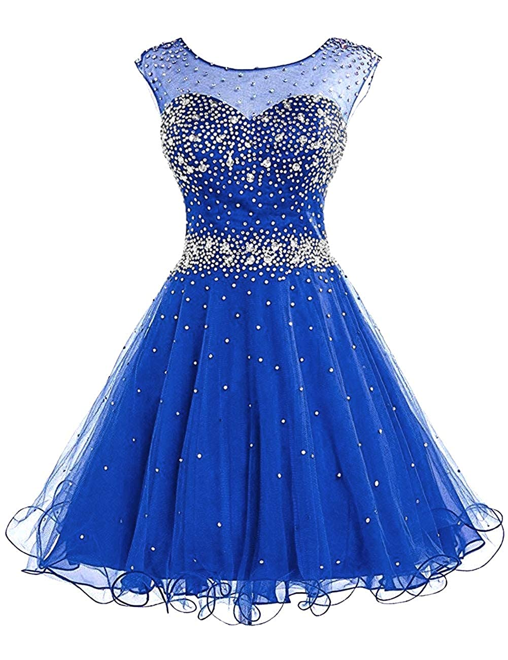 Dark bluee H.S.D Homecoming Dresses Prom Party Dresses Short Cocktail Dress Beads Graduation Gown
