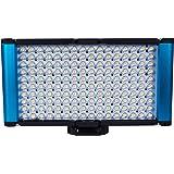 Dracast Complex High Color Rendering Index Pro Bi-Color On-Camera LED Light, Blue (DR-CAML-ProB)