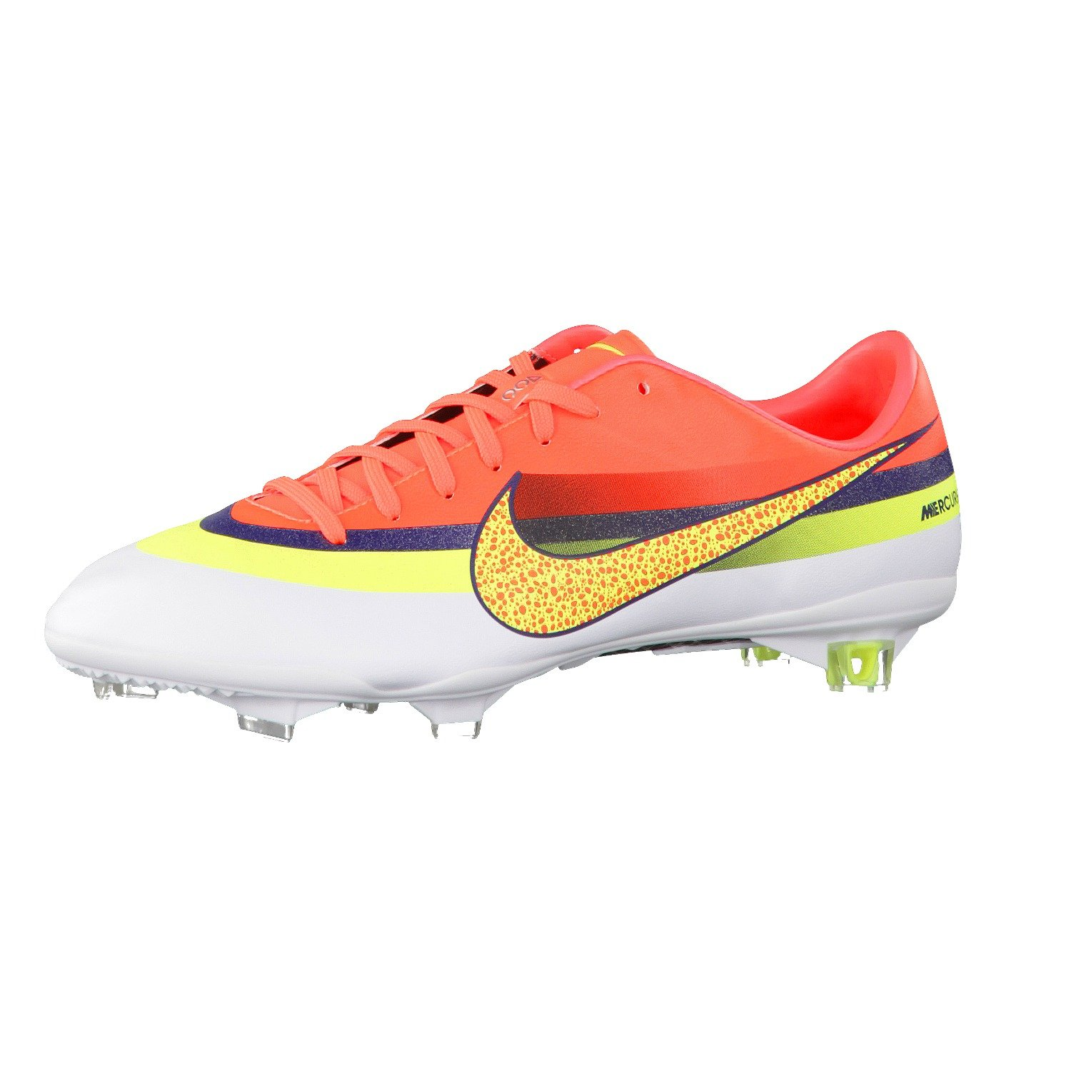 factory price 0073f c18ad Nike Mercurial Vapor IX CR7 FG Football Boots White Volt Crimson,  multicolored  Amazon.co.uk  Sports   Outdoors