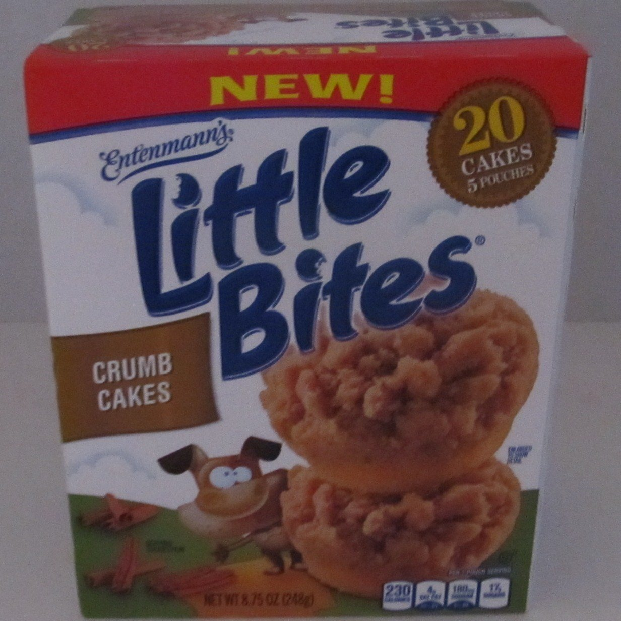 Entenmanns Little Bites Crumb Cake Muffins 875 Oz
