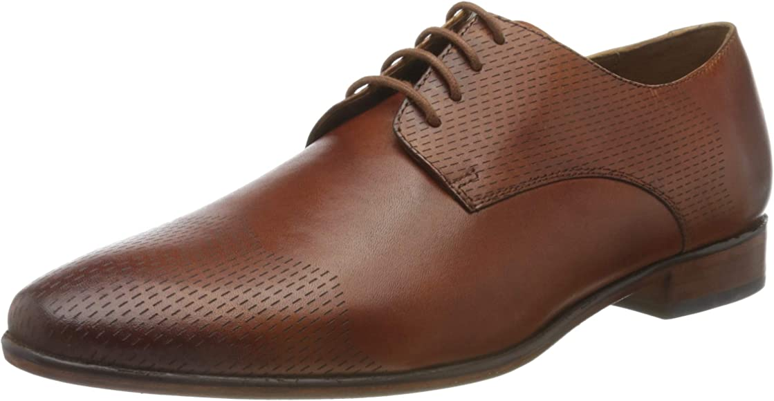 Derby Lace-Up, Brown British Tan