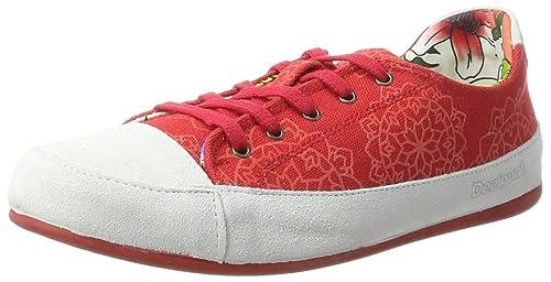 Desigual Zapatillas Happy 11 Rojo EU 40: Amazon.es: Zapatos y complementos