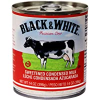 Black & White sweetened condensed milk 14 oz (pack of ...