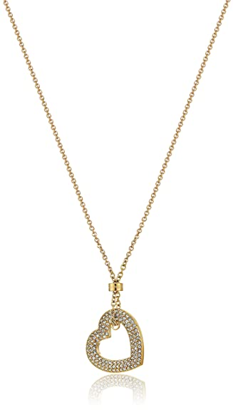 v htm concave kors necklace shopbop michael vp pave pendant