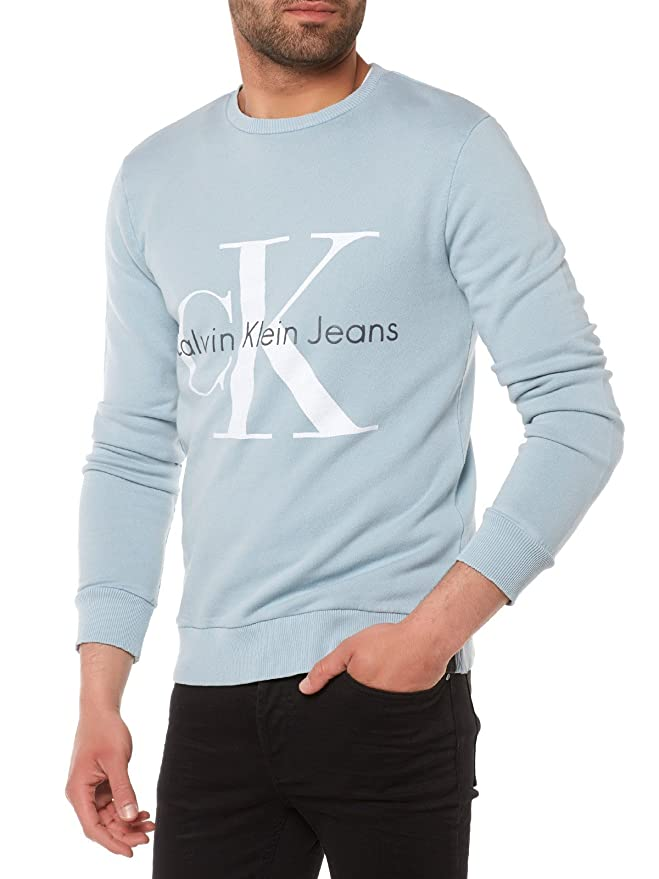 Calvin Klein Hagg True Icon Cn Hknit Ls, Chándal para Hombre, Azul ...