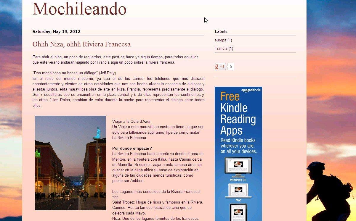 Mochileando Kindle Edition. Toma tu mochila y viaja ...