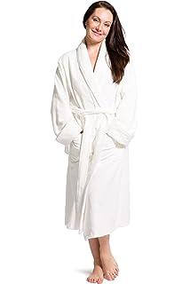Fishers Finery Womens Premier EcoFabric Turkish Style Terry Spa Robe Ultra  Plush b8447ba0f