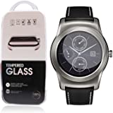 LG G Watch R Urbane W150 Screen Protector,NEXTANY® Premium Tempered Glass Screen Protector Film Guard for Smart LG G Watch R Urbane W150
