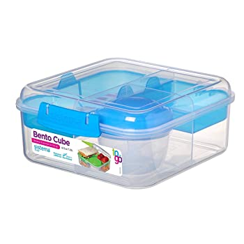 Sistema 5.3 cup Salad Container