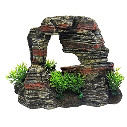 Kalaokei - Figura decorativa de resina para acuario de pecera