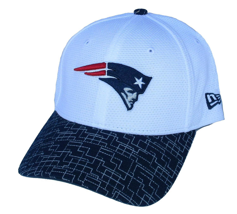 新しいEngland PatriotsフレックスフィットサイズS / MグリッドBill Hat /キャップ – 7から7 1 / 2   B071HTM6WS