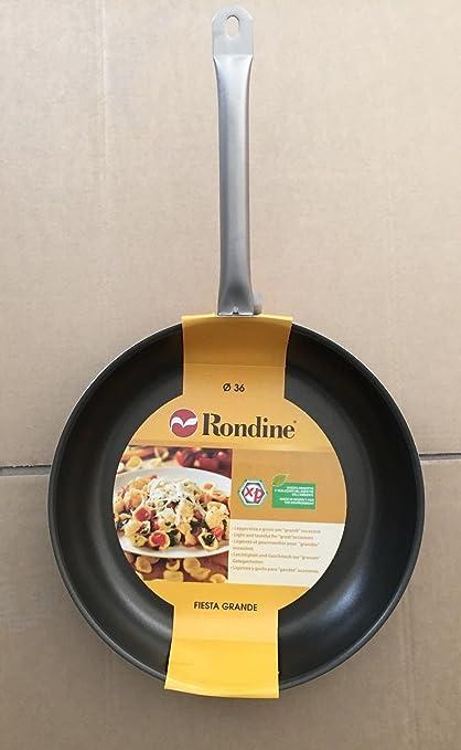 Rondine etgfpa36 Cacerola Profunda teflón 36 cm Aluminio Gris