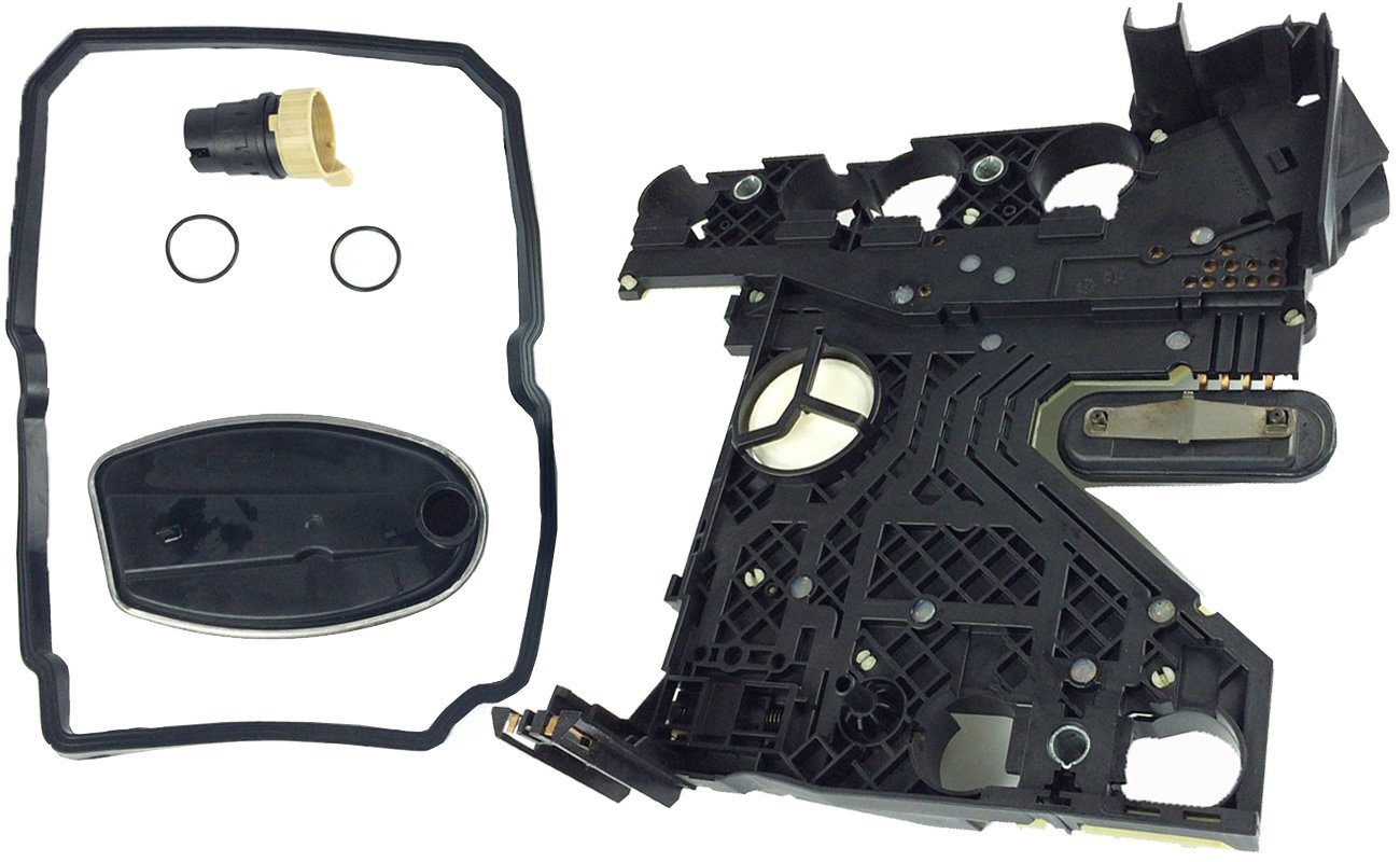 Bapmic Transmission Conductor Plate Filter Gasket Connector Adapter Kit for Mercedes-Benz 722.6