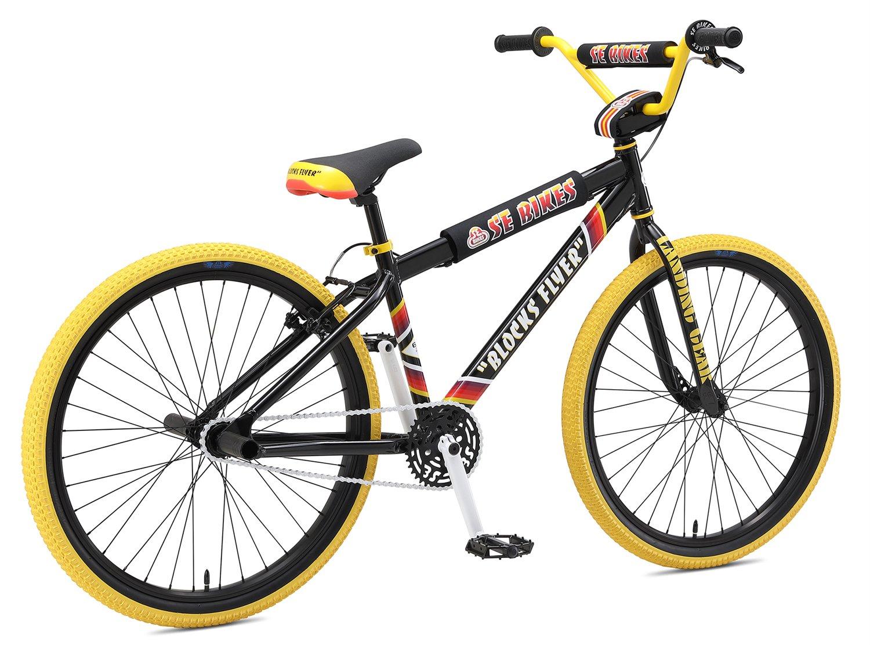 aa6f908108e SE Bikes Blocks Flyer 26 Inch 2019 Bike Black: Amazon.co.uk: Sports &  Outdoors