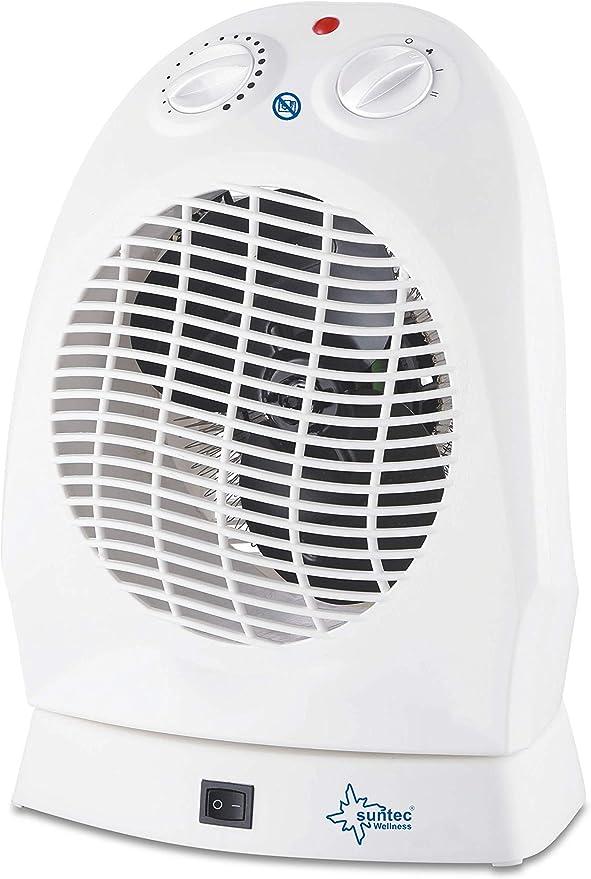 Suntec AirBooster 2000 OSC Calefactor, 1000 W, Plastic, Blanco ...