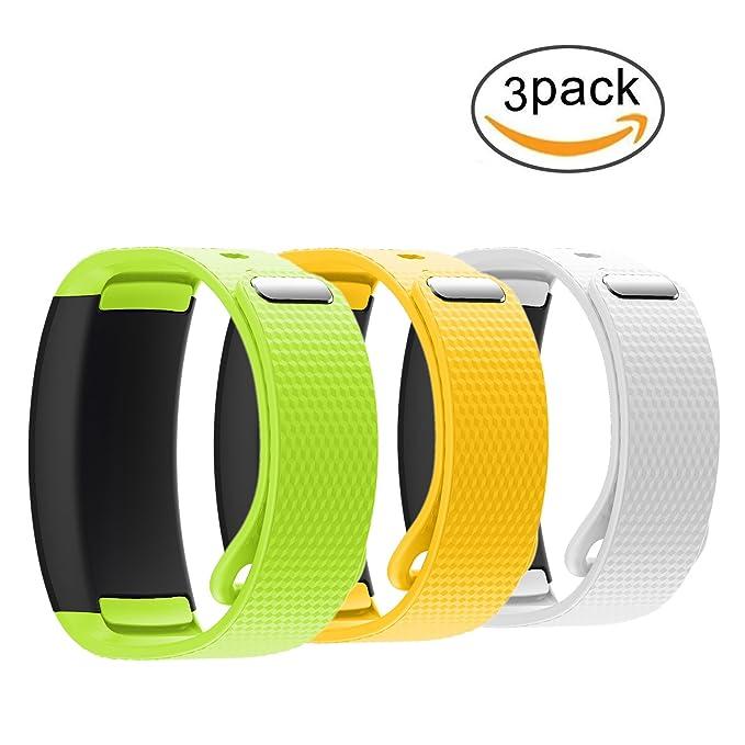 para Samsung Gear Fit2/Gear Fit2 Pro Banda de Reloj, Silicona ...