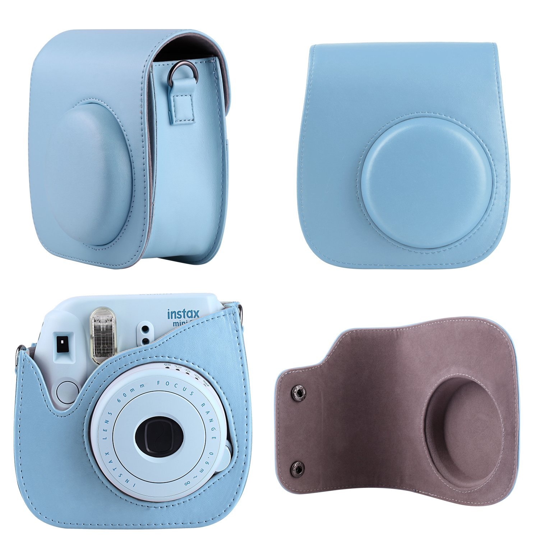 Morotek Zubehr Fur Fujifilm Mini 8 Or Instax 9 Dieses Set Album Kamera Polaroid 2nan Colorful Enthlt Tasche Buch Schultergurt Stehendes Rahmen Selfie